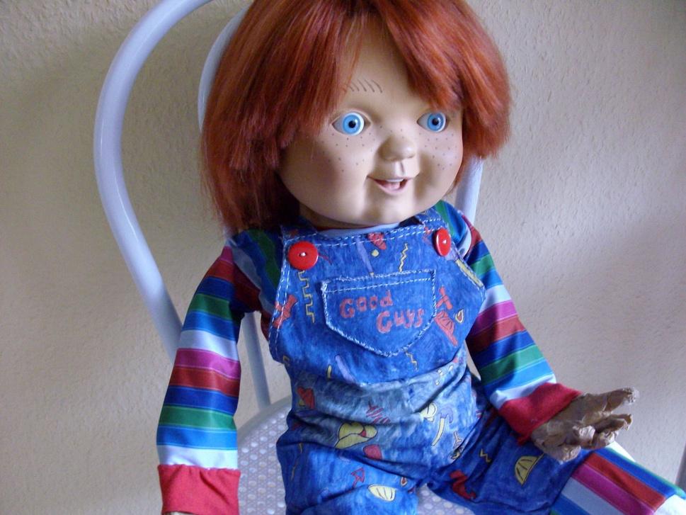 Chucky Good Guy Lifesize Head Replica