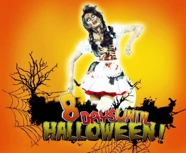 How many days until Halloween?