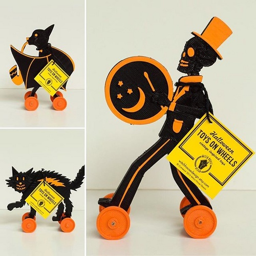 Vintage-Inspired Halloween Decorations by Witch House Design
