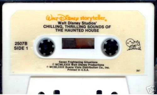 Disney's Chilling, Thrilling Sounds of the Haunted House 1979 - Cassette-1979tapeversion.jpg
