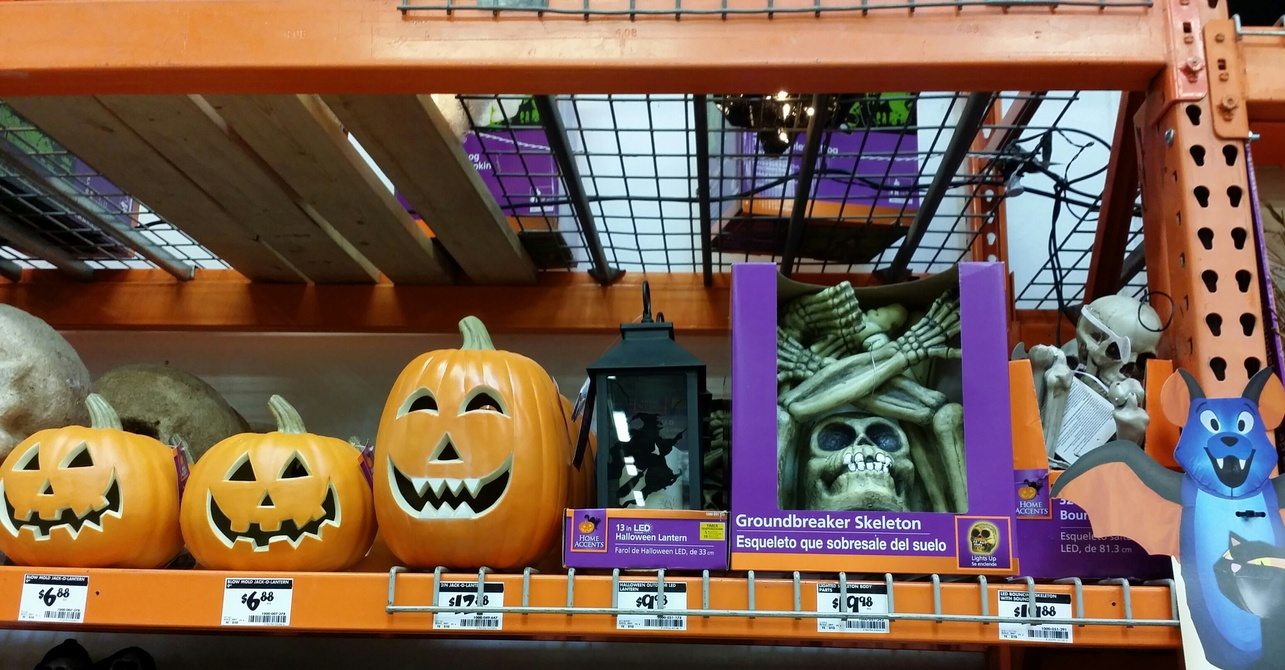lowes menards and home depot halloween 2014 page 7 - Menards Halloween Decorations