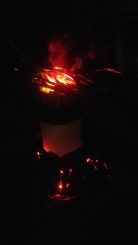 fog machine cauldron