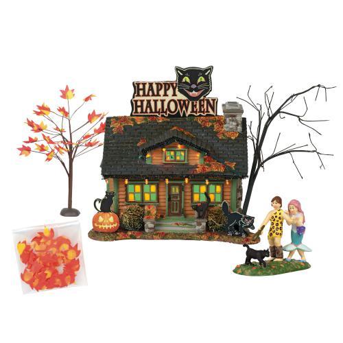 Lemax Halloween Village