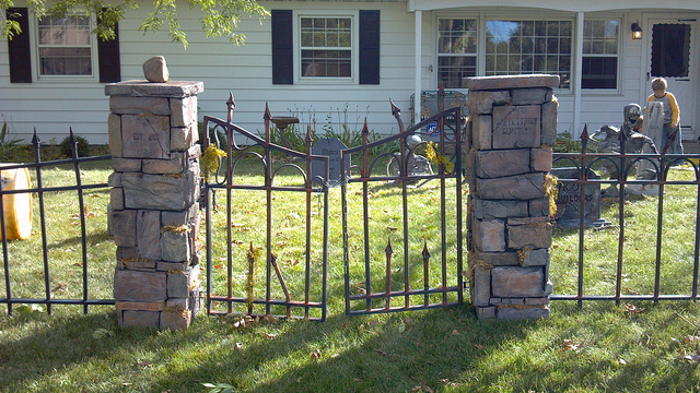 cemetery fence halloween prop the best fence of 2018