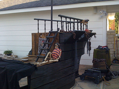 Prop Showcase Homemade Pirate Ship