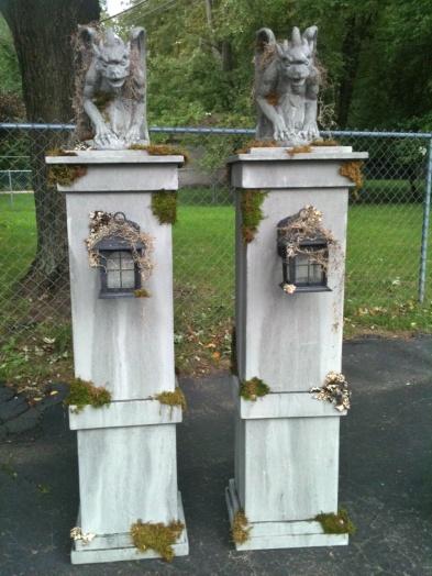 Halloween Graveyard Fence