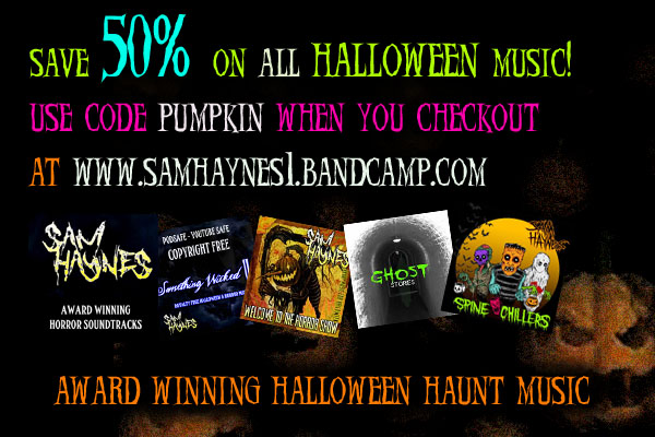 Happy October - Free Download of Halloween Haunt Soundtrackk song now on Soundcloud-discount.jpg