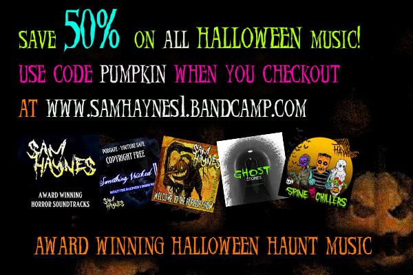 Happy October - Free Download of Halloween Haunt Soundtrackk song now on Soundcloud-discount.jpg
