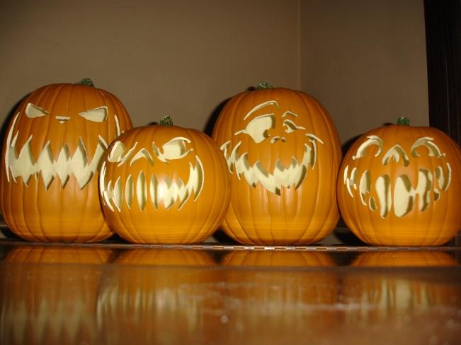 Static Carving Fake Pumpkins Halloween Forum