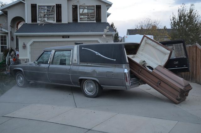 1983 Cadillac Hearse for sale $2500 obo