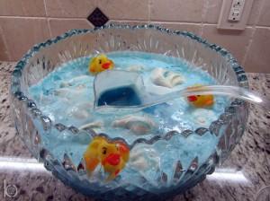 Halloween Baby Shower Ideas · Mummy CakeDuckPunch 300x224