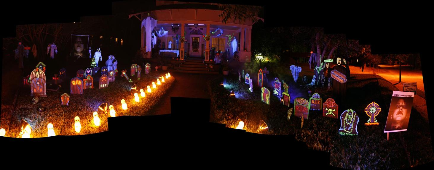 Exceptional Haunted Front Yard Ideas Part - 8: Front Top Of Stairs (Large).jpg ...