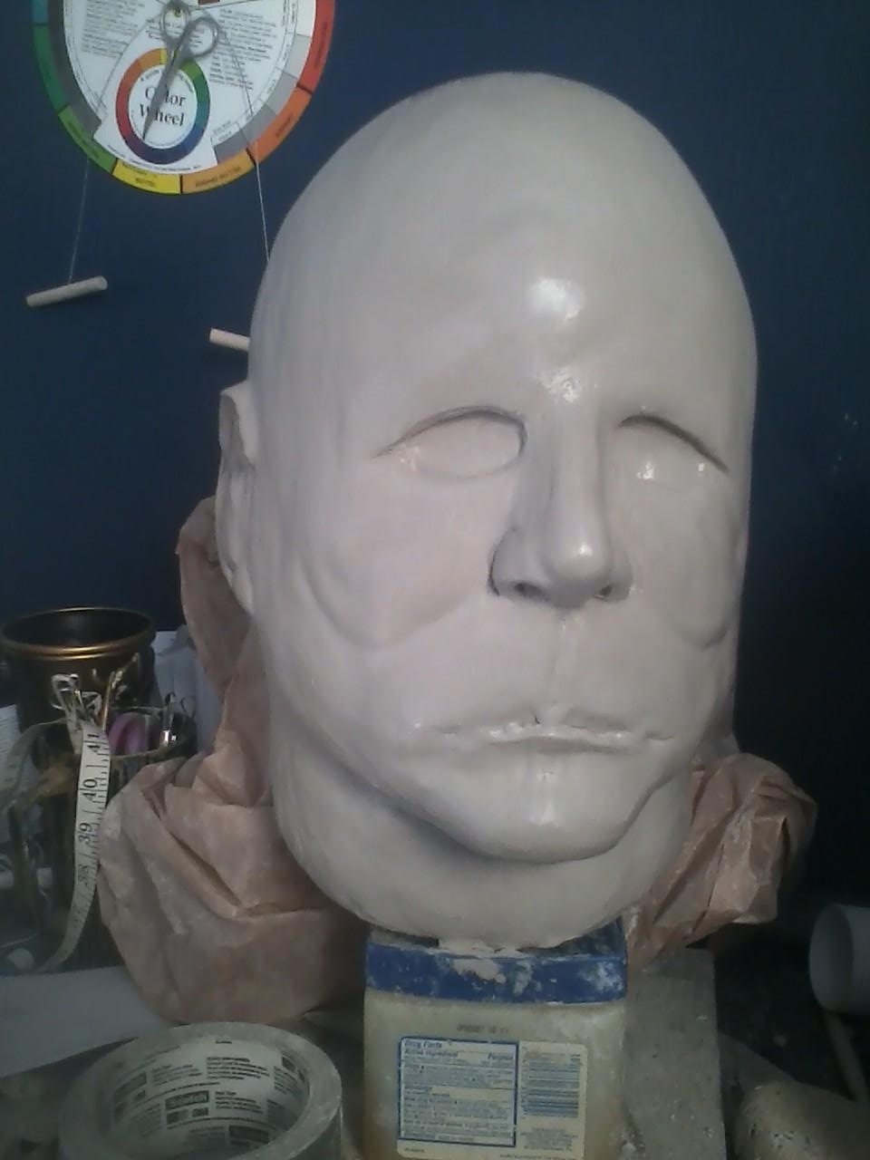 Prop Showcase: Michael Myers Mask WIP