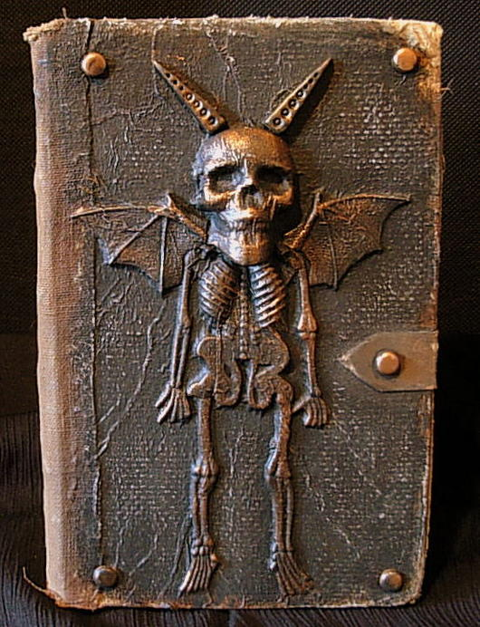 Spooky Altered Books - How To.-goblin-altered-book.jpg