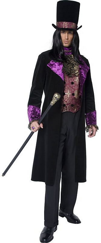 help with gothic ringmaster costume. Black Bedroom Furniture Sets. Home Design Ideas