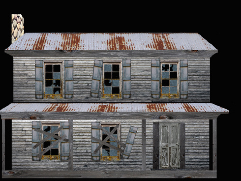 Projected facade of old weathered house-graphic.jpg