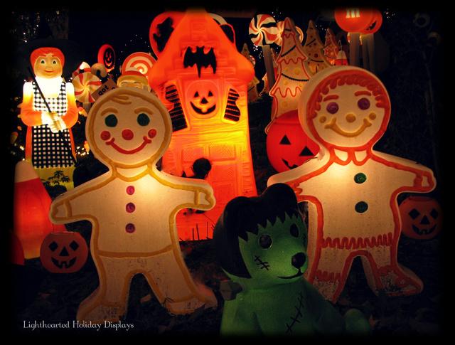 Turning random Christmas blowmolds into whimsical Halloween decorations.-halloween-candyland-12-.jpg
