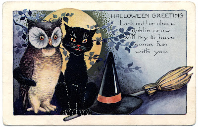 Apothecary Jar Labels, Tags & Ideas-halloween-cat-owl-graphicsfairy.jpg