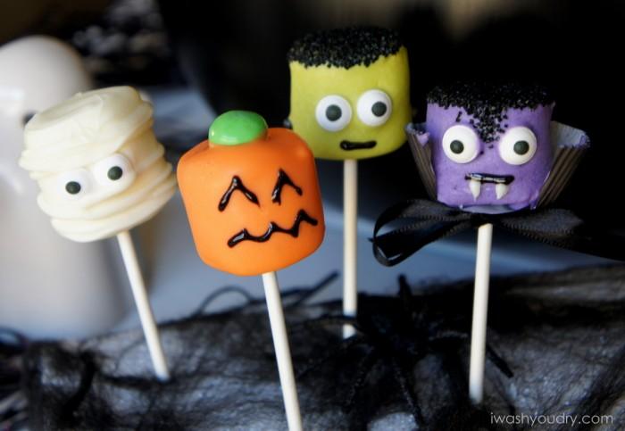 Halloween Marshmallows ...