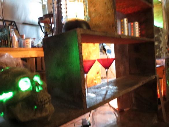 Haunted house vampire room ideas