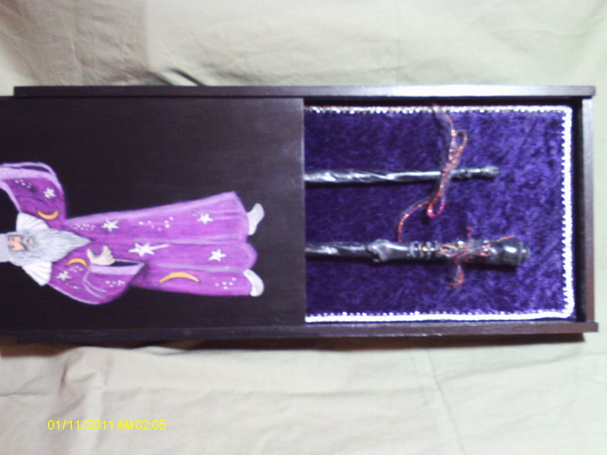 Handmade Witches spell books and Wizards wand box with pair of dueling wands-imag0022.jpg