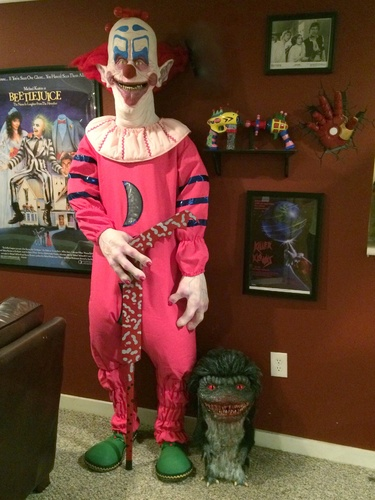 Static Killer Klowns From Outer Space Life Size Ozob Prop