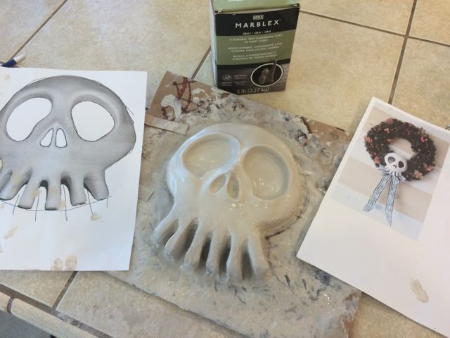 Static: Nightmare Before Christmas Skull Mold DIY