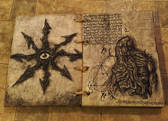 Book Cover Photography Prop : Static spell book of shadows grimoire