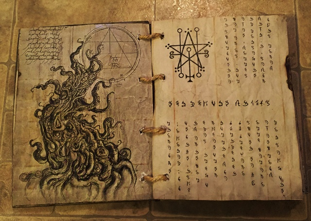 Static Spell Book Book of Shadows
