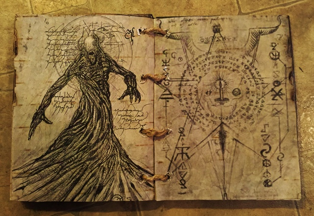 spells in the book of dead