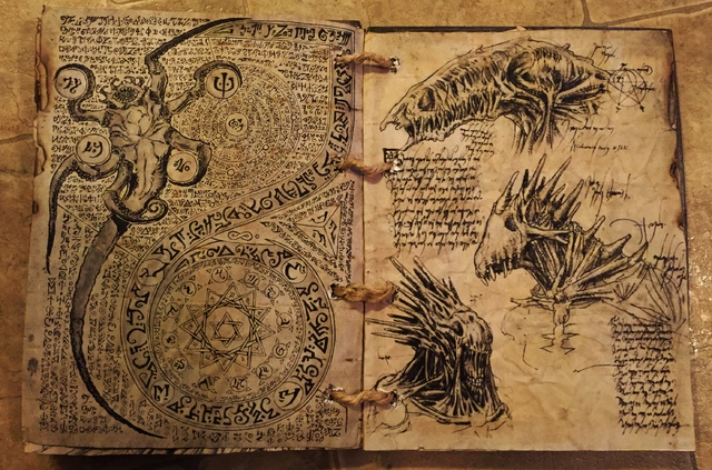 Spell Book, Book of Shadows, Grimoire, Necronomicon, Book of the Dead-img_0467.jpg