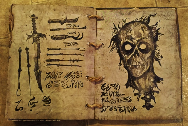 Spell Book, Book of Shadows, Grimoire, Necronomicon, Book of the Dead-img_0468.jpg