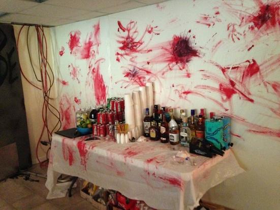 2013 Walking Dead Halloween Party