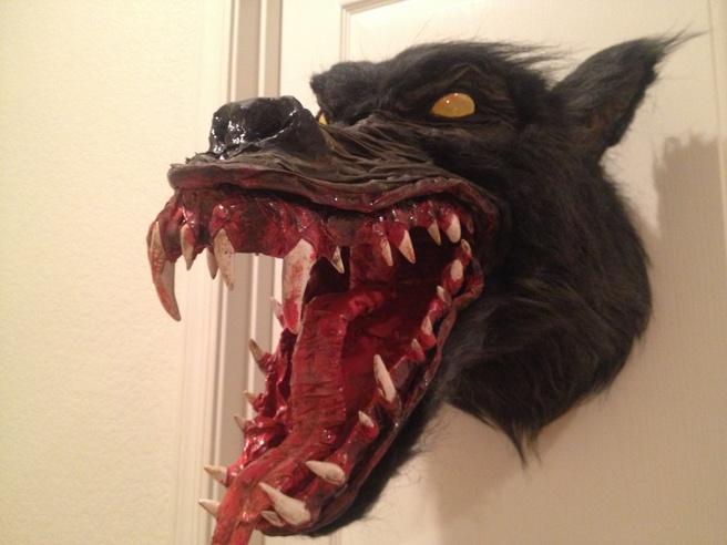 Static Werewolf Trophy