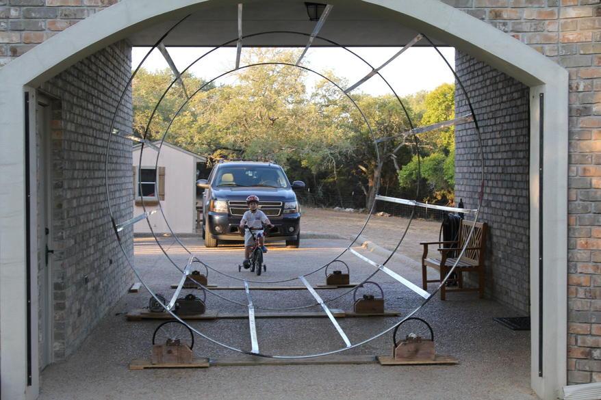 Mechanical Vortex Tunnel Frame Done