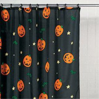 Give Your Bathroom A Fun Holiday Feel With Halloween Shower Curtains