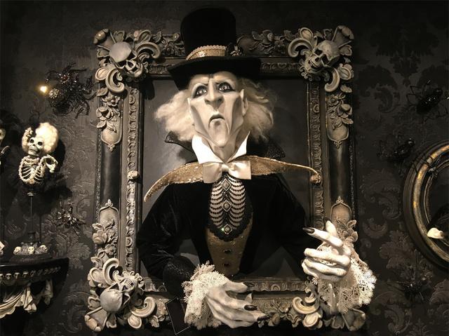 expensivelord blackmoore haunted mansion frame halloween propjpg - Halloween Barn