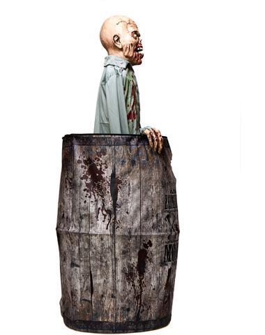 thread unreleased spirit halloween prop moonshine barrel zombie - Spirit Halloween Props
