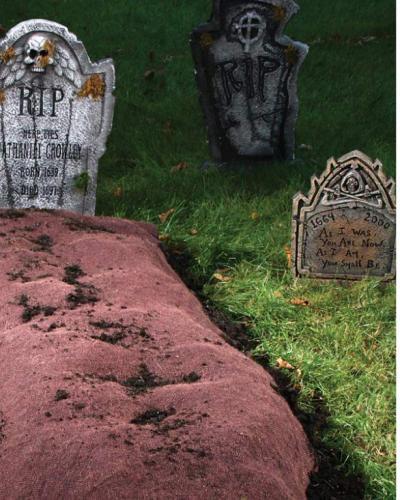 Image result for spirit halloween fresh grave