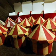 CarnEvil Theme Circus Tent Boxed Invitations!-redcompleterows.jpg