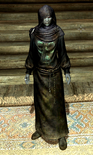 Finished my last min Dunmer Necromancer from Skyrim costume