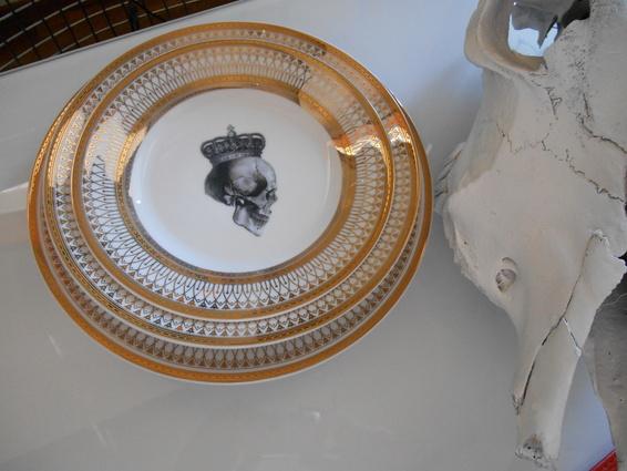 Stack1.jpg ... & Porcelain Halloween Dinnerware