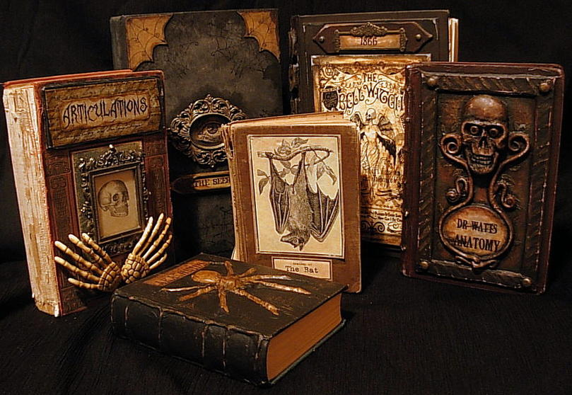 Spooky Altered Books - How To.-staged-book.jpg
