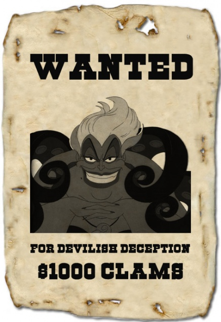 Heroes and Villains Wanted Posters – Examples of Wanted Posters