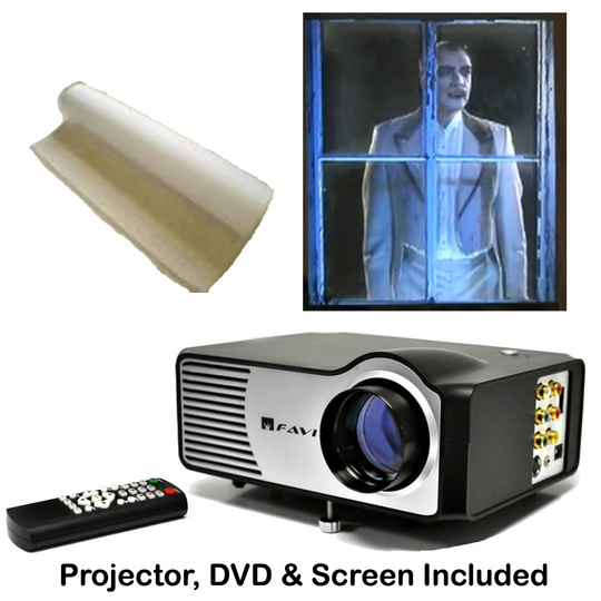 Virtual Reality Halloween Kits (DVD, Projector & Screen Included) !!