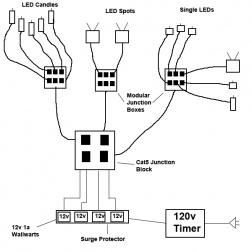 electronic  software  electrical help  hardwiring led