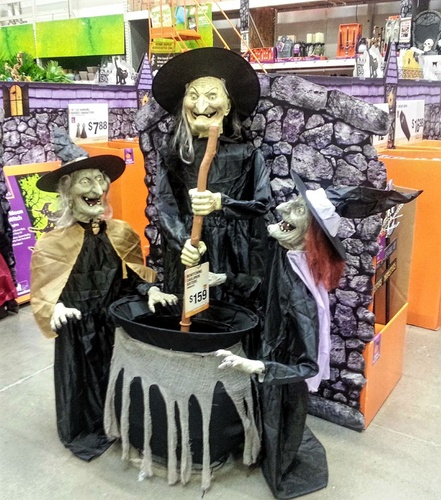 witchjpg - Menards Halloween Decorations