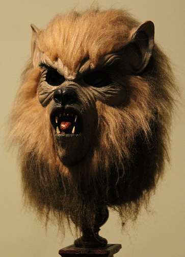 1977 Franco Wolf mask...what happened to this kind of quality?