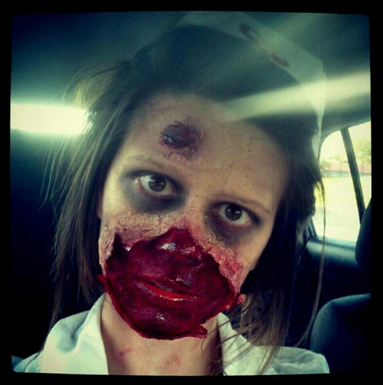 Zombie makeup share yours zombieg solutioingenieria Images