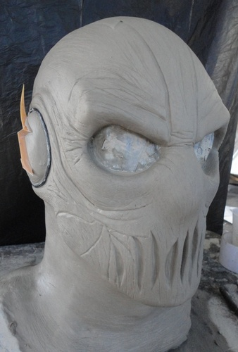 prop showcase  zoom mask from cw the flash tv series